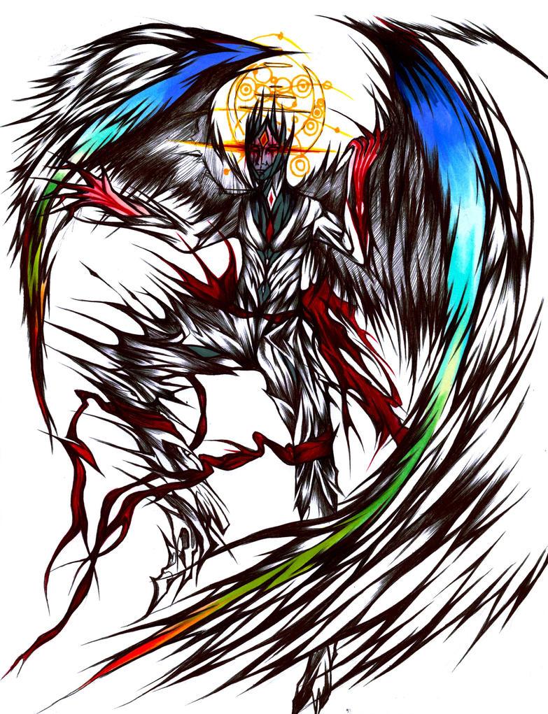 Gaugera 4 - Heavenly Archangel form by Antervantei