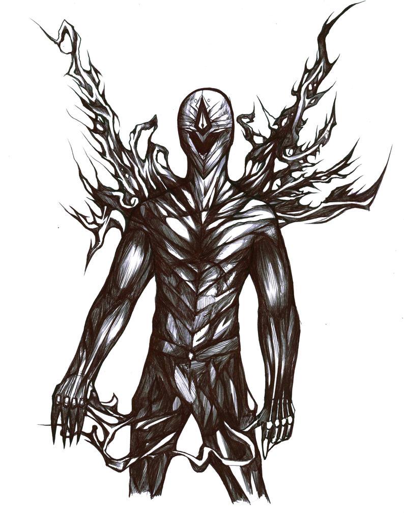 Ryngbearer - dark author form by Antervantei