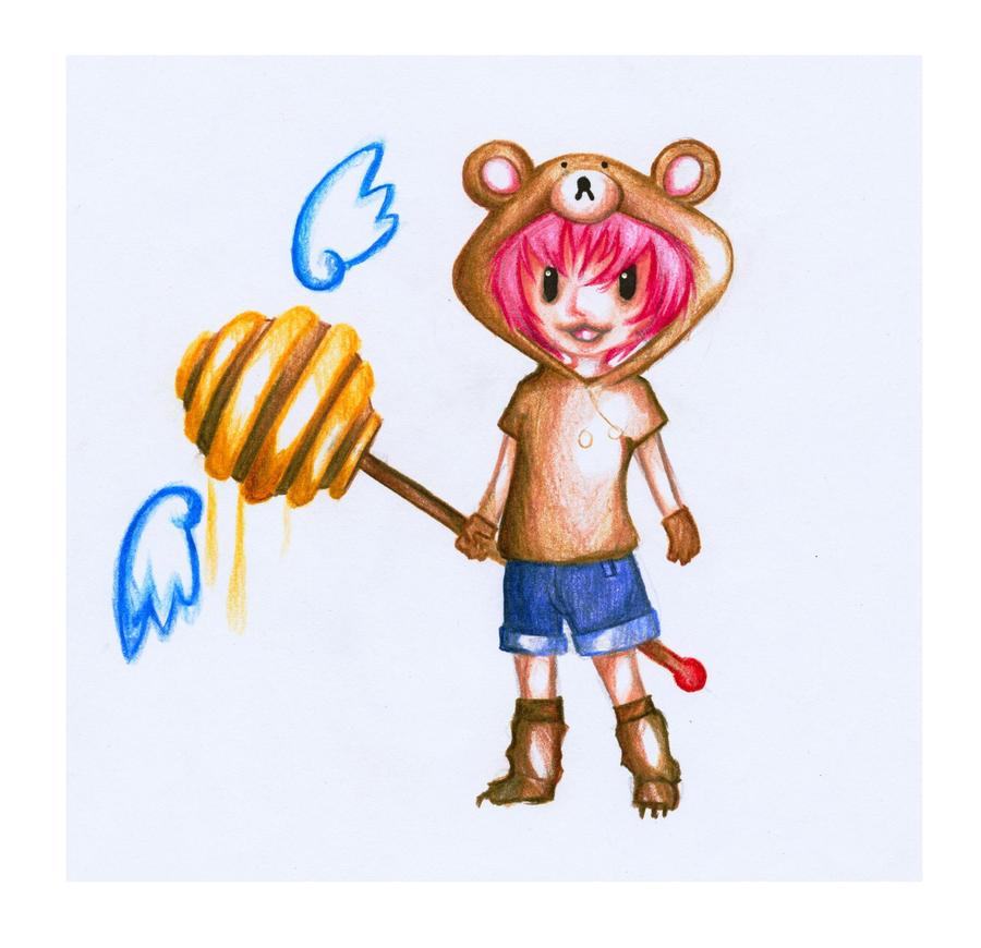 Kuma-chan by Antervantei