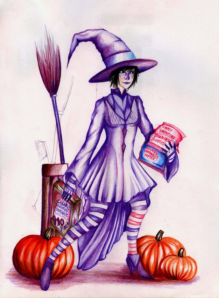 Katerina's Halloween by Antervantei