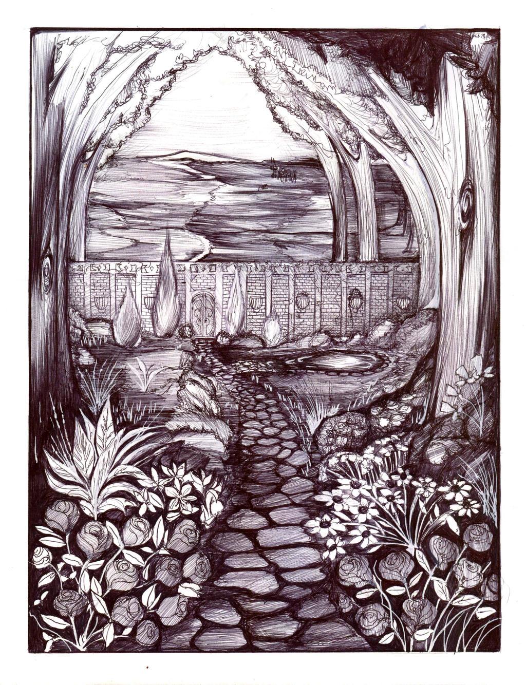 SGP - The garden. by Antervantei