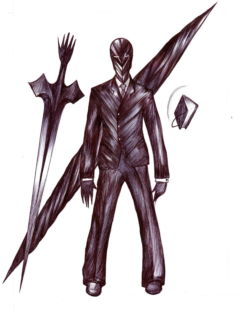 RyngBearer - Black Suit Summon - full weapons by Antervantei