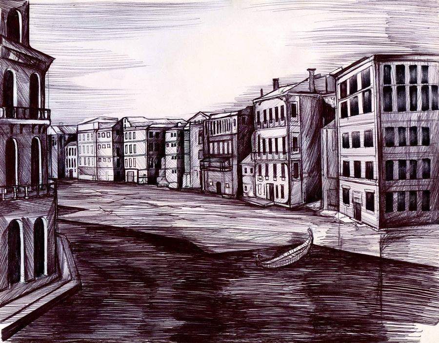 Venice 9h x 7h by Antervantei
