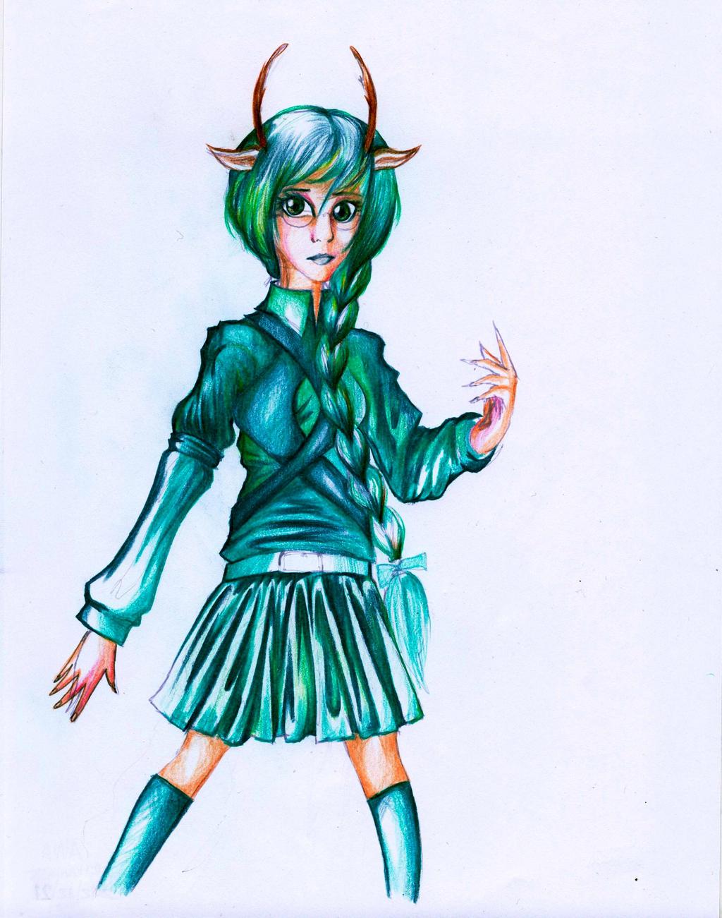 Awa - concept outfit by Antervantei