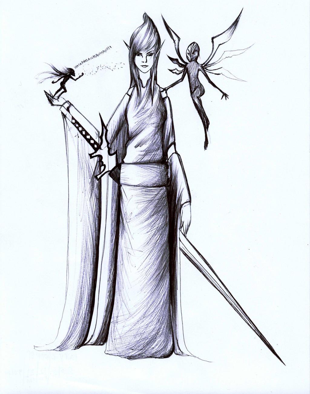 Fairy charmer 2012 by Antervantei