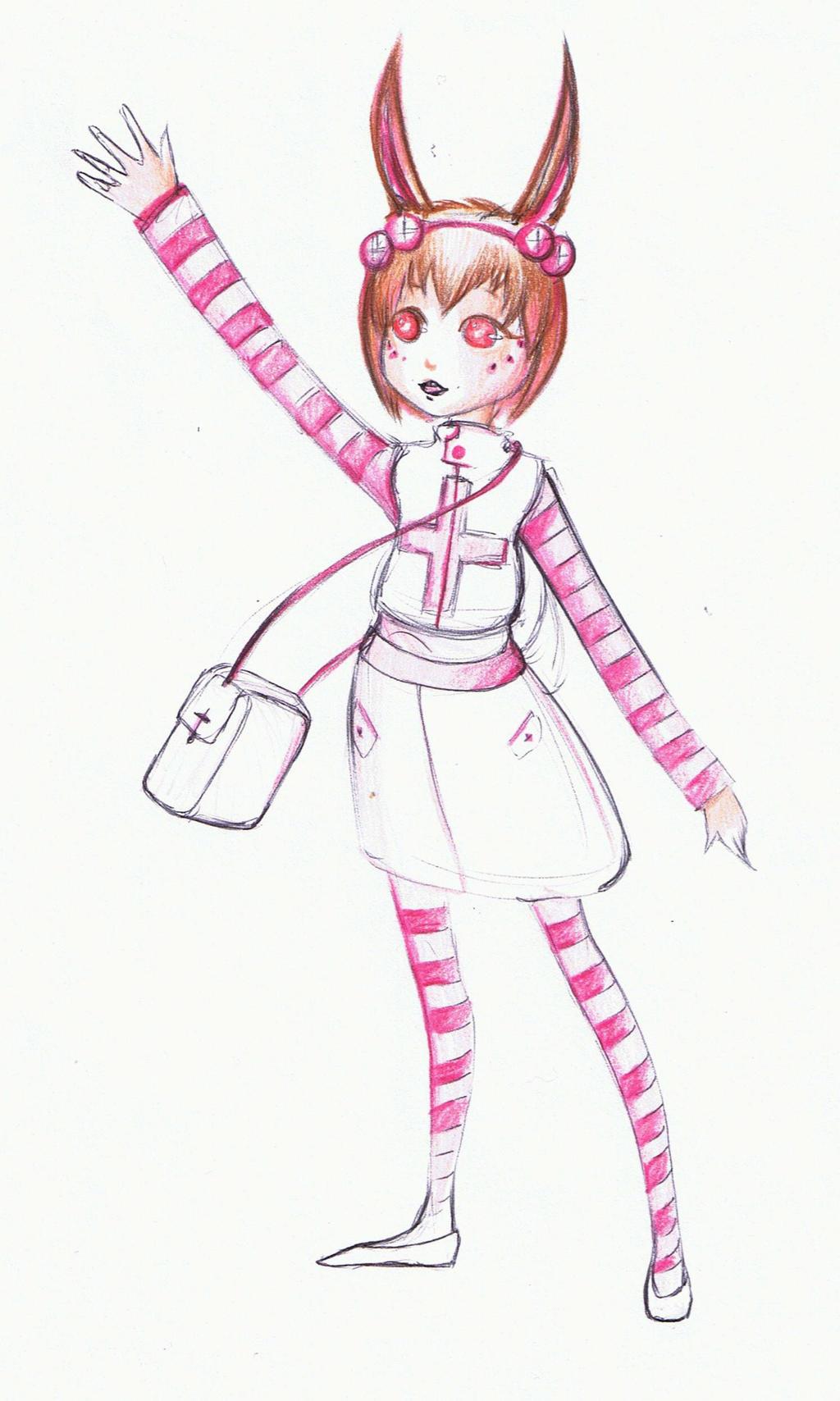 Bunny Nurse by Antervantei