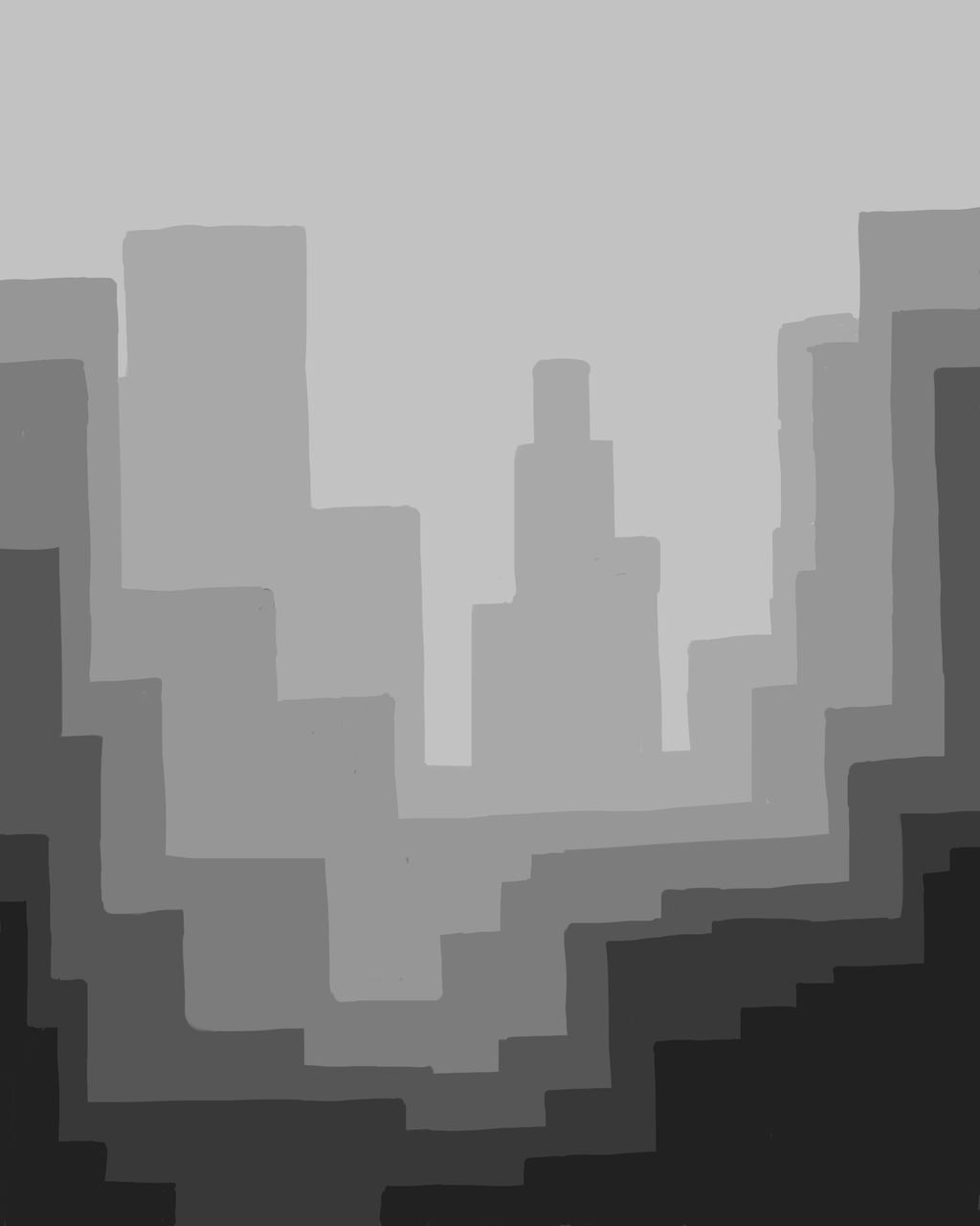 Grey City (wip?) by Antervantei