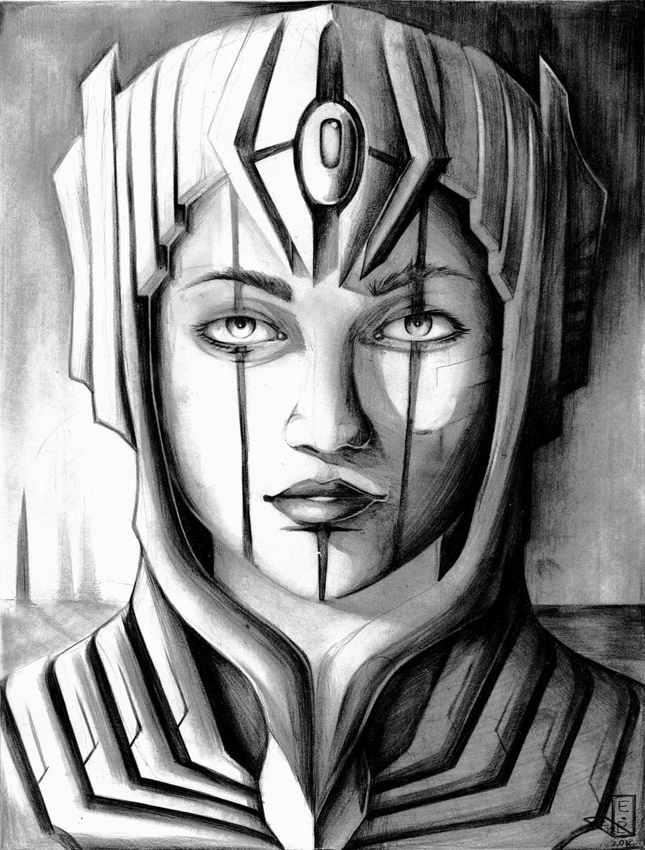 Queen Egate by Antervantei
