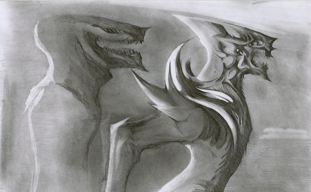 Kaiju 1 by Antervantei