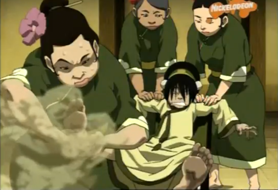 Toph' s foot massage by buibui1