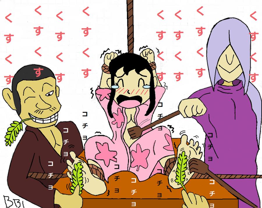 Shizuka in Edo era 2-2 (colored) by buibui1