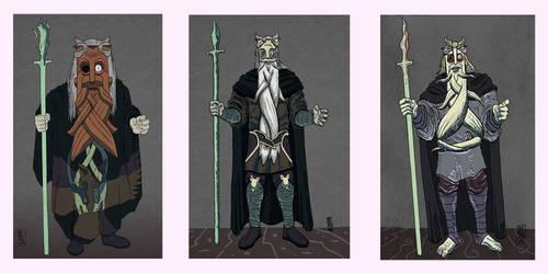 Odin (concept art) by Lefteris-Yakoumakis