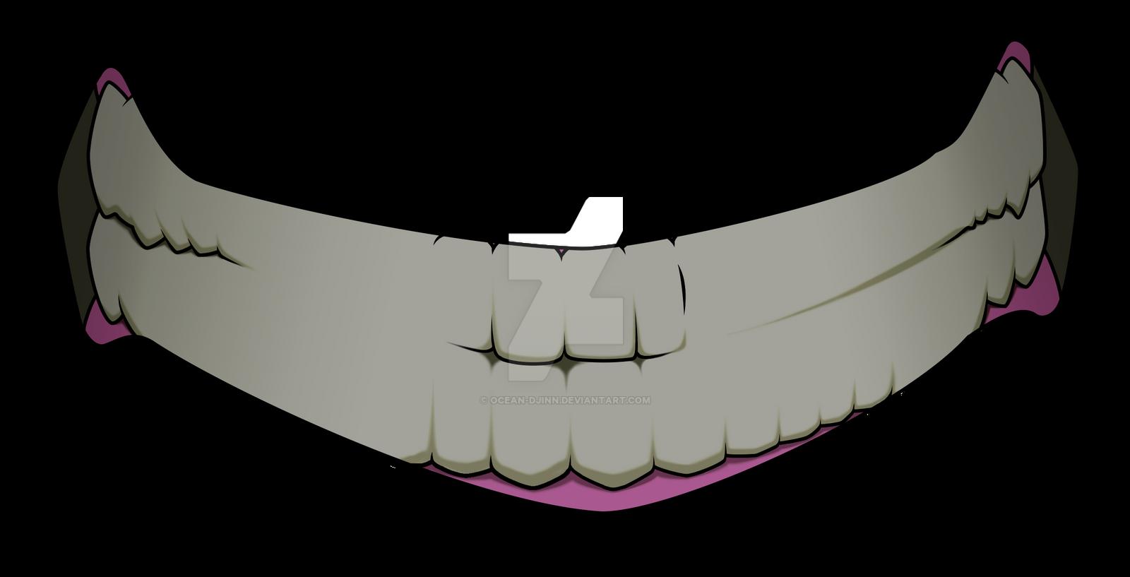 evil cartoon mouth - HD1600×817