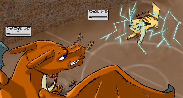 Charizard used Fly by Rudahn on DeviantArt