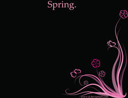 Spring wallpaper by Eve-Y-D