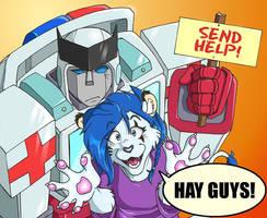 Ratch and Straya - SEND HELP by straya