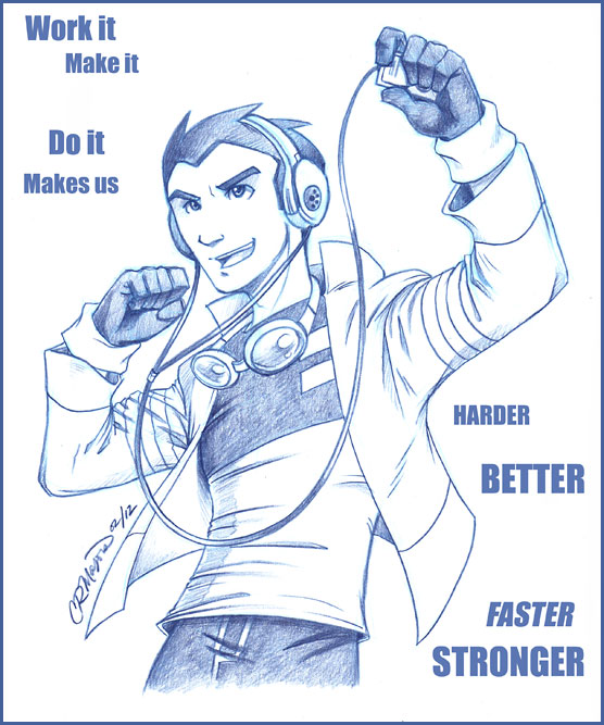 GenRex - Harder Better Faster Stronger by straya