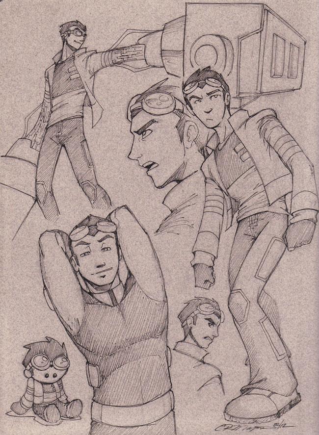 GenRex - Misc Rex Sketches by straya