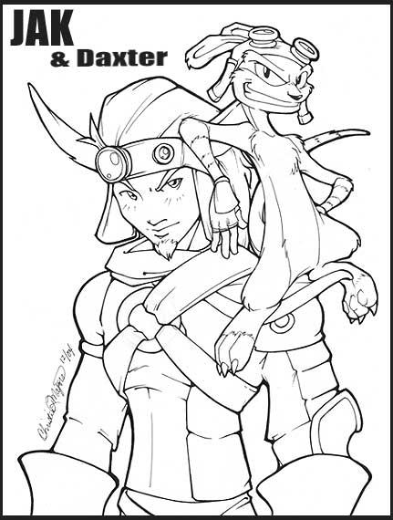 Jak and Daxter by straya