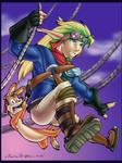 Swingin Jak and Dax - Color