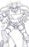 TFA - Ratchet Sketch by straya