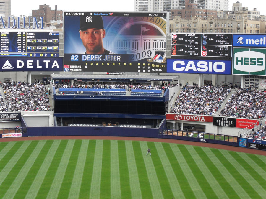 New Yankee Stadium Stock by johnnynothing