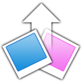 Flickr Uploadr Icon by prosam
