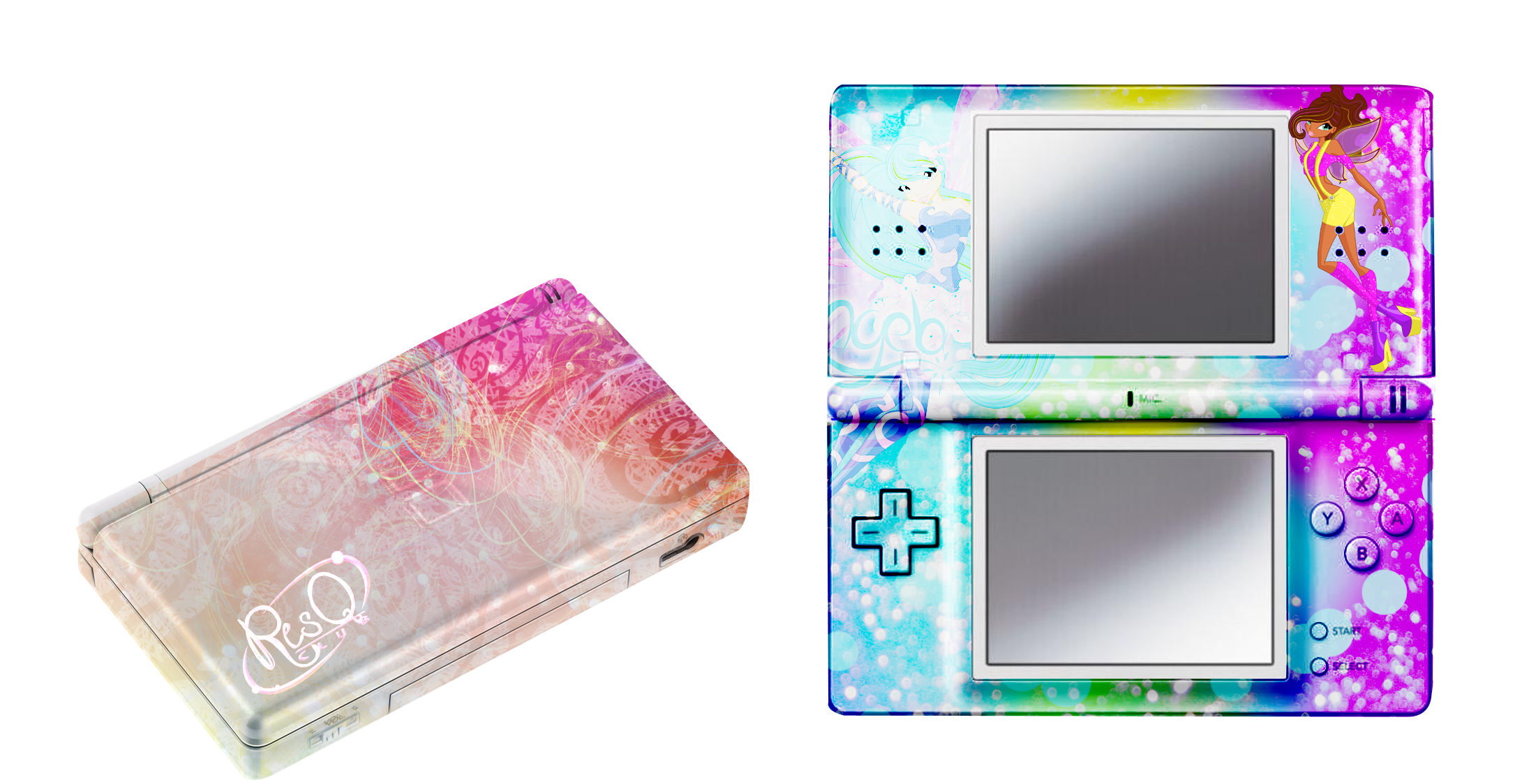 ResQ club Nintendo ds by Dessindu43