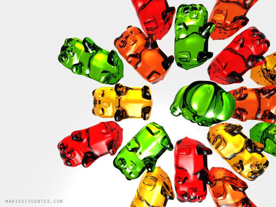 gallery for gummy bears wallpaper