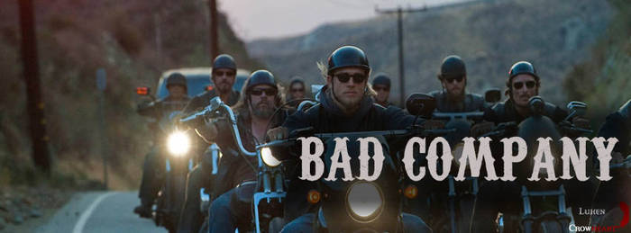 Sons Of Anarchy - Facebook cover: 'Bad Company'