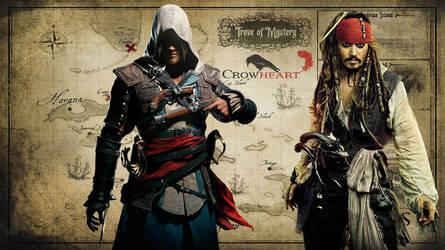 Edward Kenway and Jack Sparrow: Legends