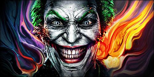 Joker smudge