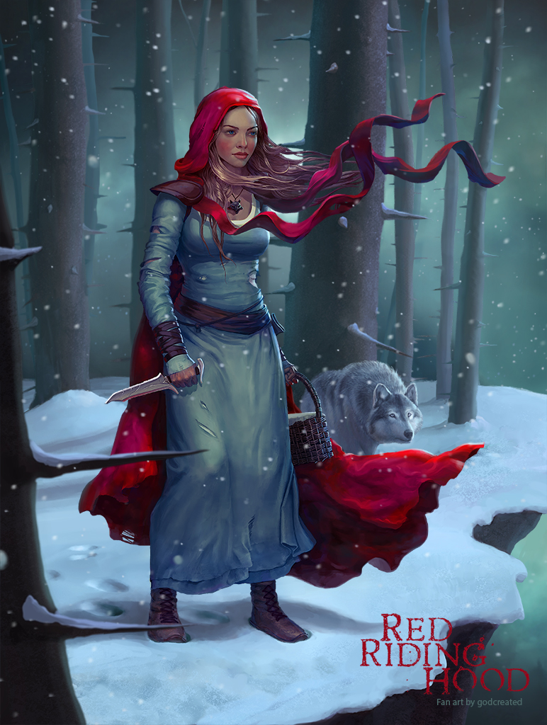 Red Riding Hood by godcreated00