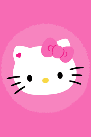 Hello Kitty Pink Iphone Wallpaper By Omgimcarrie On Deviantart