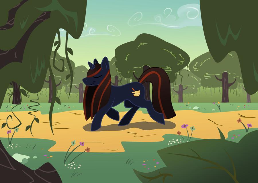 Ly pony by LyricaBelachium