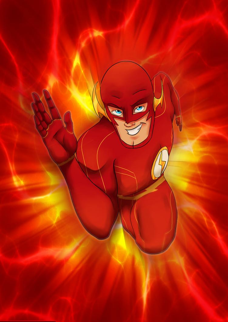 The Flash by LyricaBelachium
