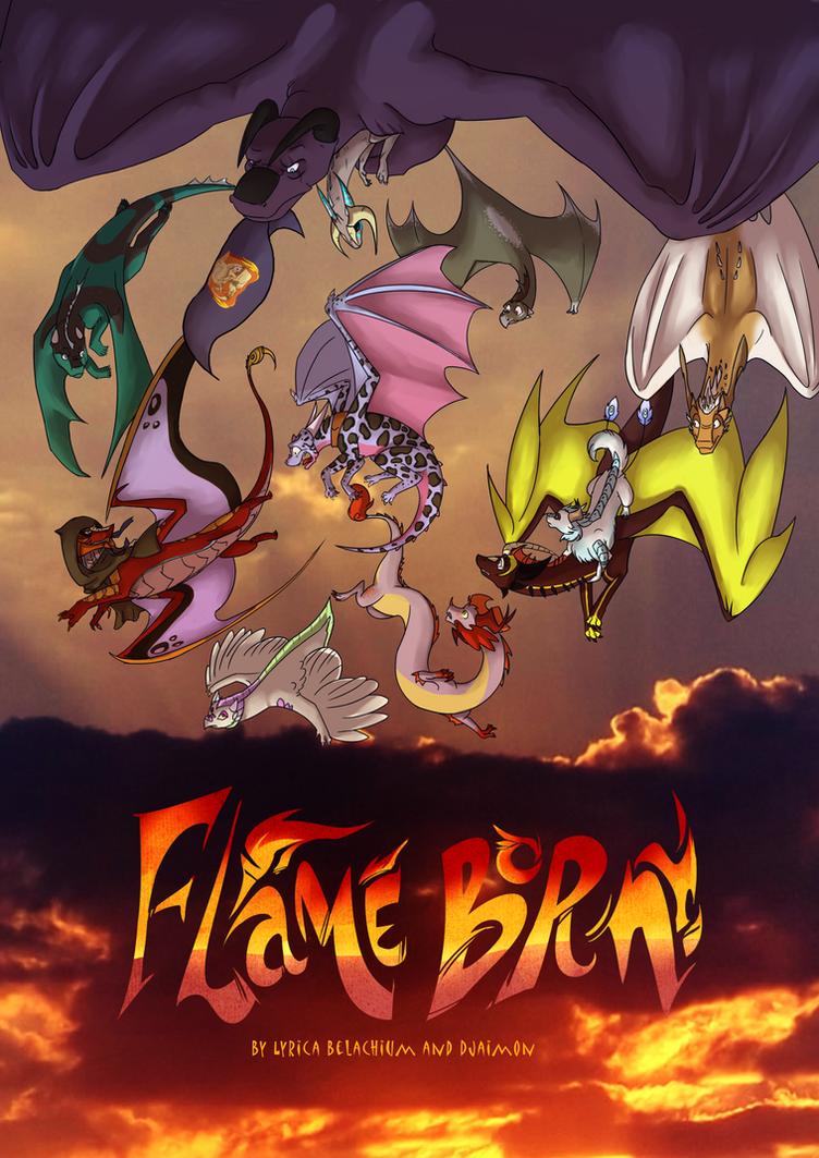 Flame Born Poster by LyricaBelachium
