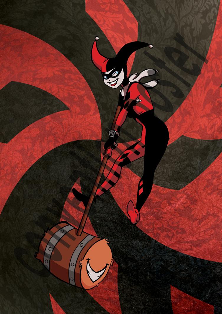 Harley Quinn Poster by LyricaBelachium