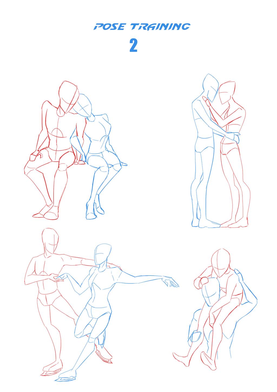 Pose training  challange 2 by LyricaBelachium