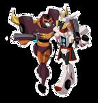 TFN sticker: Dirft and Rodimus