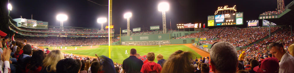 Fenway Park by catacombofwords