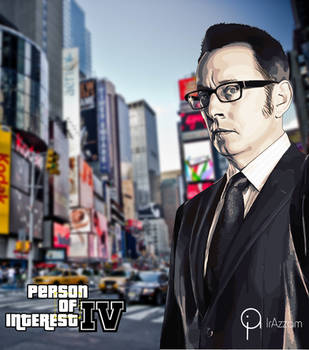Mr. Finch, Harold Finch - Person of Interest: IV by ihyabond009