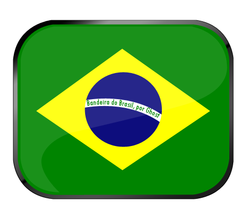 Vetor da Bandeira do Brasil by claudiormrt