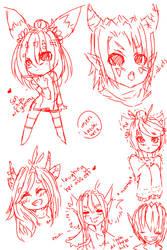 Doodles!!! by BabyBunnyFoo