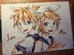 Vocaloid : Kagamine Rin and Kagamine Len