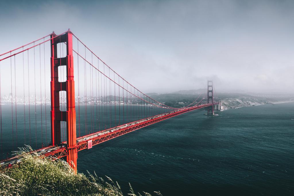 San Francisco Golden Gate Bridge by MarekMirth