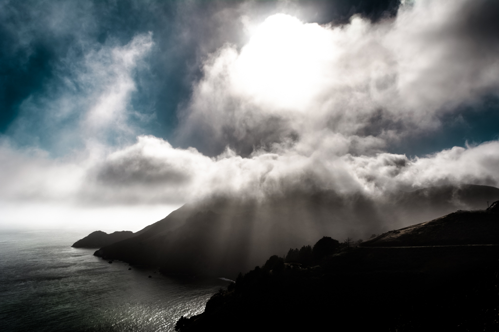 Cloud Scenery at Golden Gate Bridge by MarekMirth