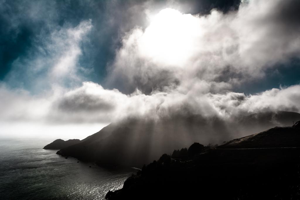 Cloud Scenery at Golden Gate Bridge by MarekMirth