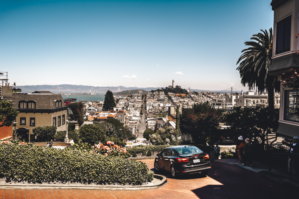Lombard St. San Francisco by MarekMirth