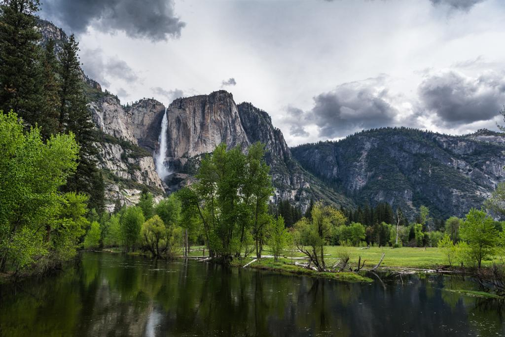 Yosemite Merced River by MarekMirth